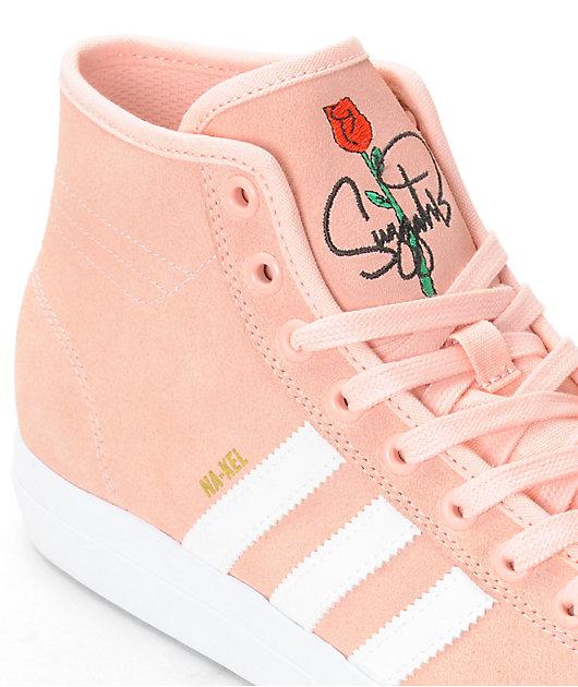 adidas Matchcourt Hi RX Pink \u0026 White