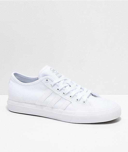adidas Matchcourt RX All White Canvas