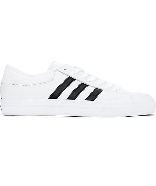 adidas Matchcourt White \u0026 Black Leather