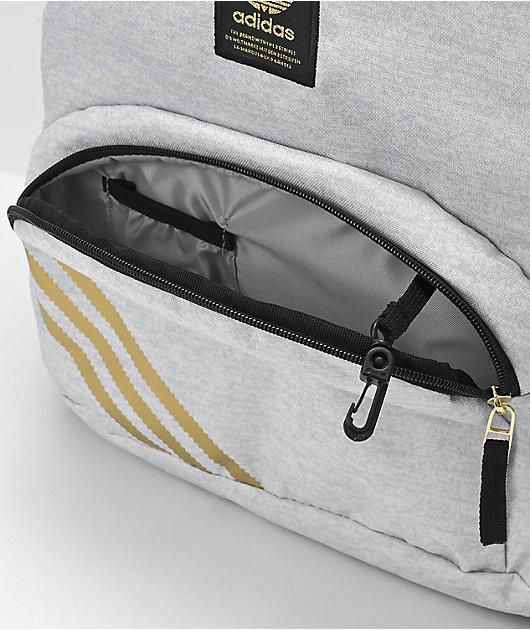 adidas National 2.0 White Backpack