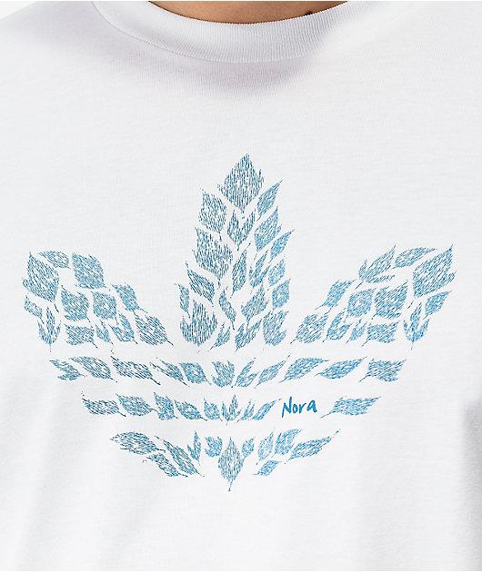 adidas Nora Graphic White T-Shirt