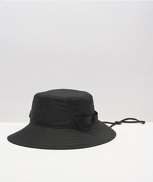 adidas Originals Black Webbed Boonie Hat