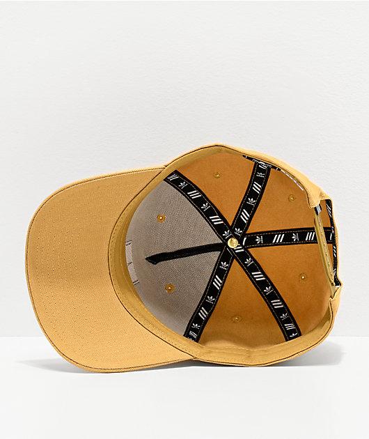 adidas Originals Dart Trefoil Sand Snapback Hat