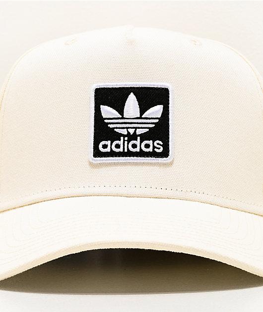 adidas Originals Dart Trefoil gorra blanca