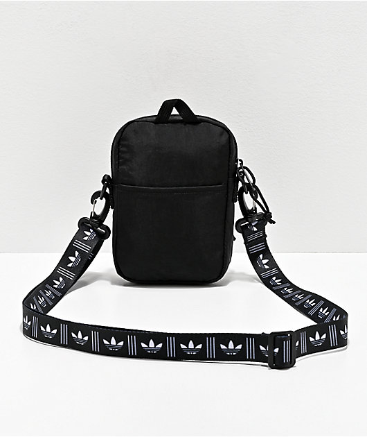 adidas Originals Festival Black & White Shoulder Bag