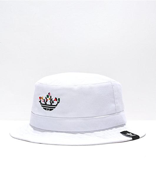 adidas Originals Floral Trefoil Bucket Hat