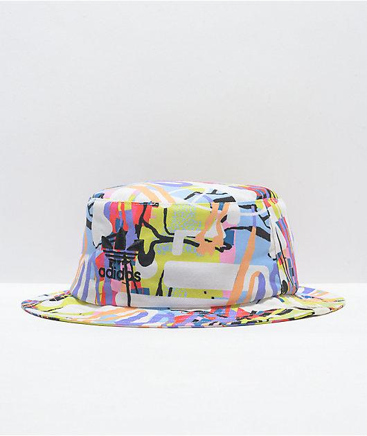 adidas Originals Love Unites Allover Print Bucket Hat