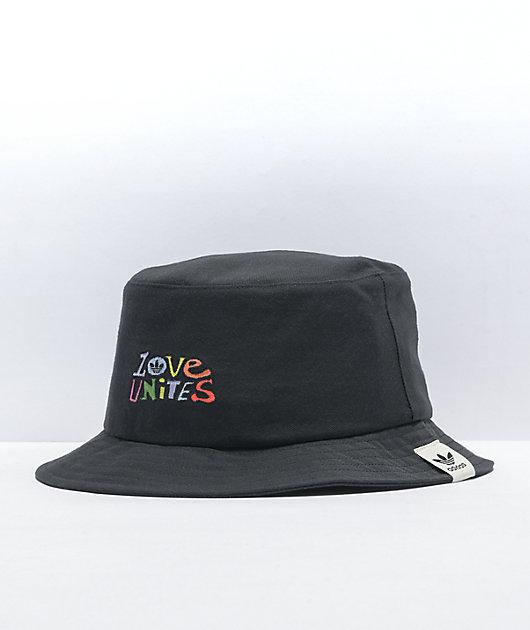 adidas Originals Love Unites Black Bucket Hat
