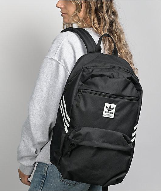 adidas Originals National Recycled Black Backpack