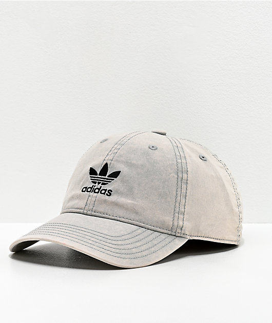 adidas Originals Relaxed Cloud Grey Strapback Hat