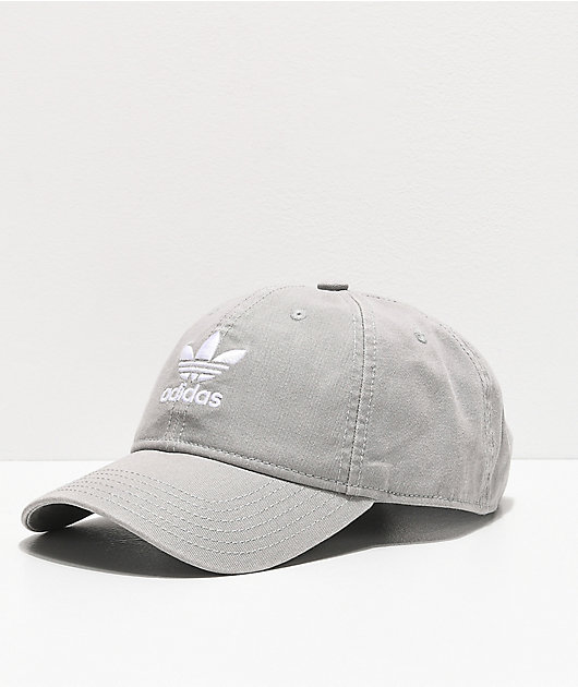 adidas Originals Relaxed Grey Strapback Hat