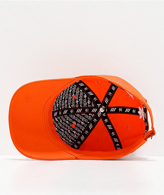 adidas Originals Relaxed Orange Strapback Hat