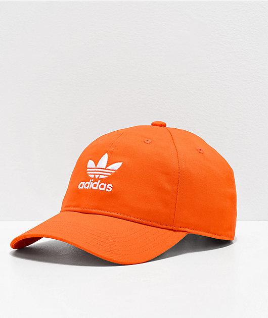 adidas Originals Relaxed gorra naranja