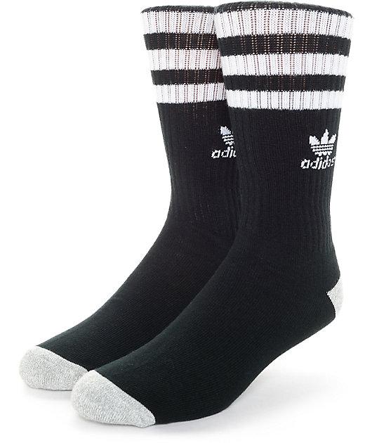 adidas Originals Roller Black & White Crew Socks