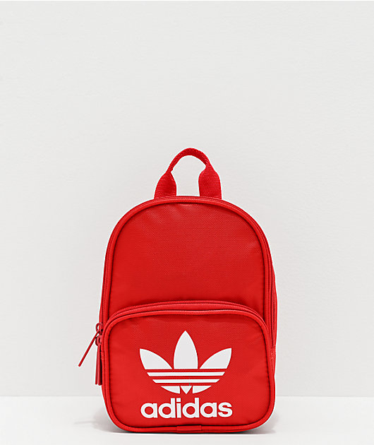 adidas Originals Santiago mini mochila roja