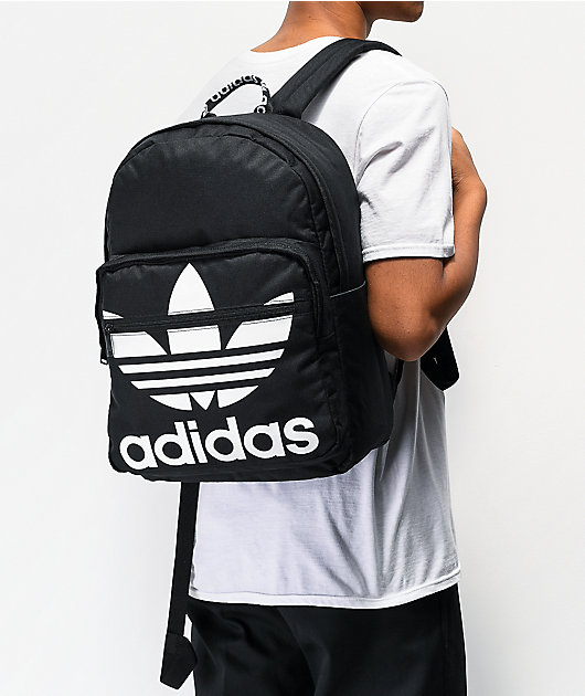 adidas Originals Trefoil Pocket Black Backpack