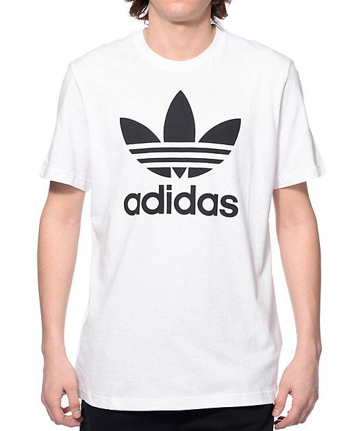 adidas Originals Trefoil White T-Shirt