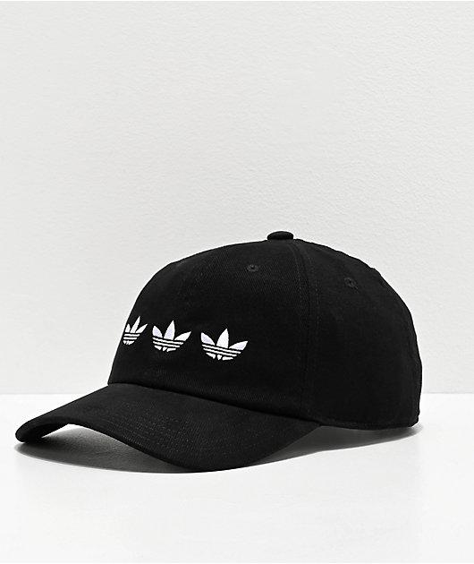 adidas Originals Triple Trefoil gorra negra