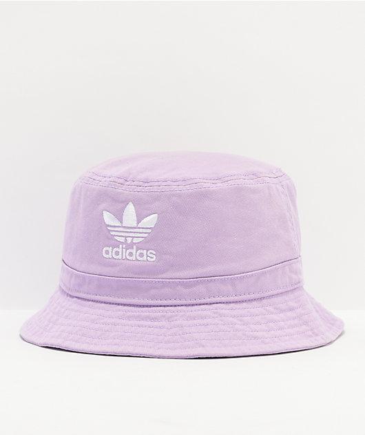 adidas Originals Washed Lavender Bucket Hat