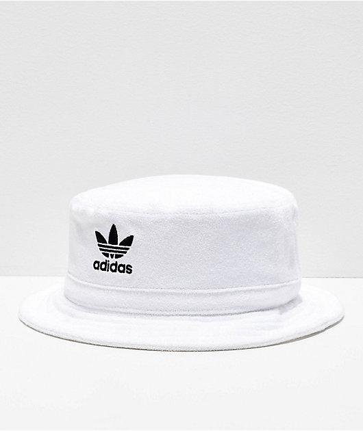 adidas Originals White Bucket Hat