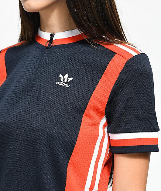 adidas Osaka Archive Red, White & Blue Jersey
