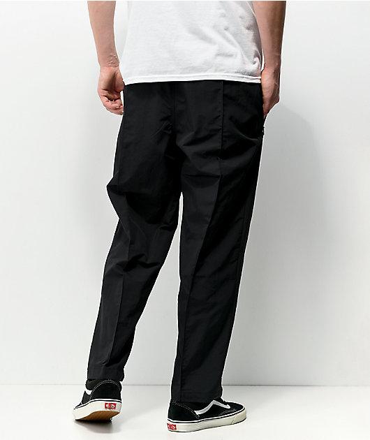 adidas Pintuck Black Track Pants