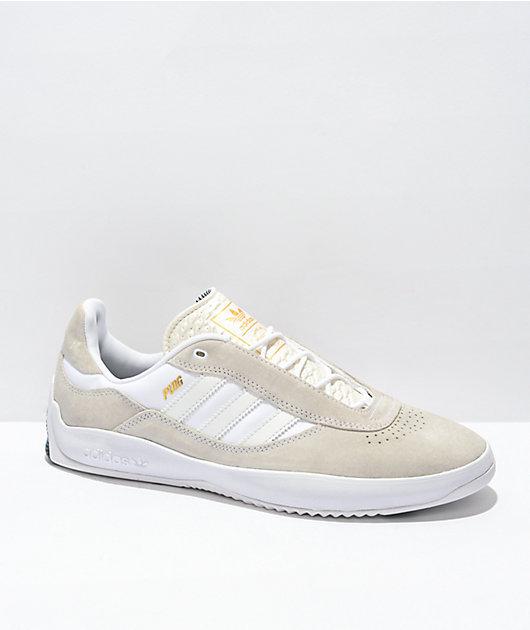 adidas Puig White & Gold Shoes
