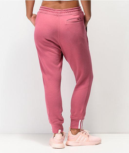 adidas R.Y.V. Maroon Jogger Sweatpants