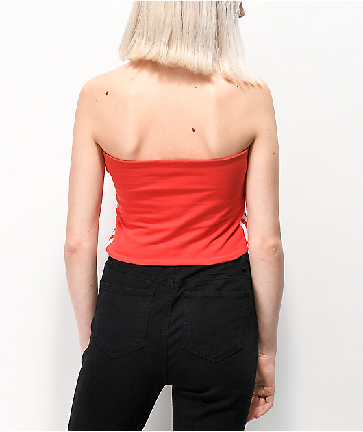 adidas Red Tube Top