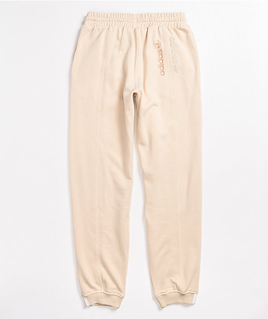 adidas Regular Khaki Jogger Sweatpants