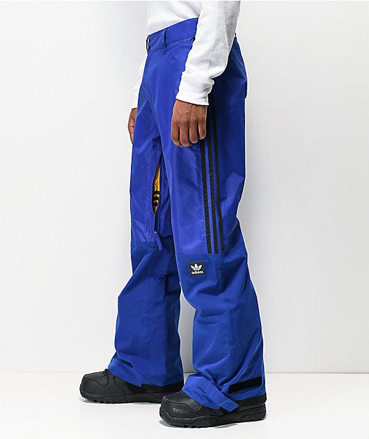 adidas Riding Pant Blue 10K Snowboard Pants