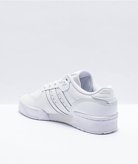 adidas Rivalry Low White Shoes
