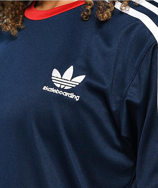 adidas SB Blue, Red & White Jersey
