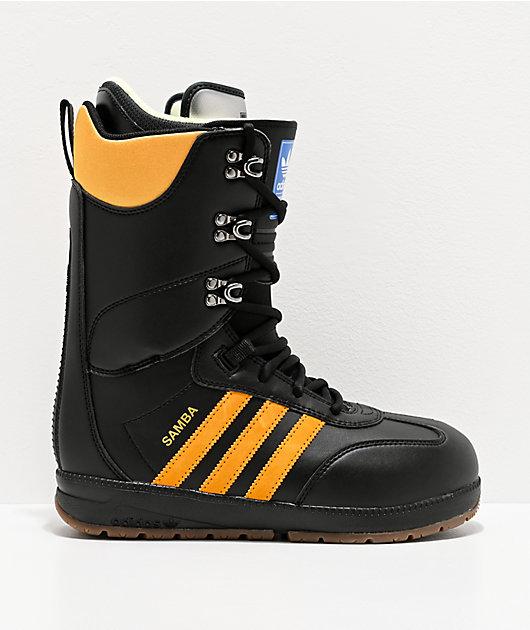 adidas Samba ADV Black Snowboard Boots 2020