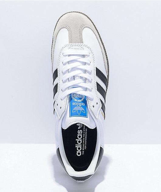 adidas Samba White, Black & Gum Shoes