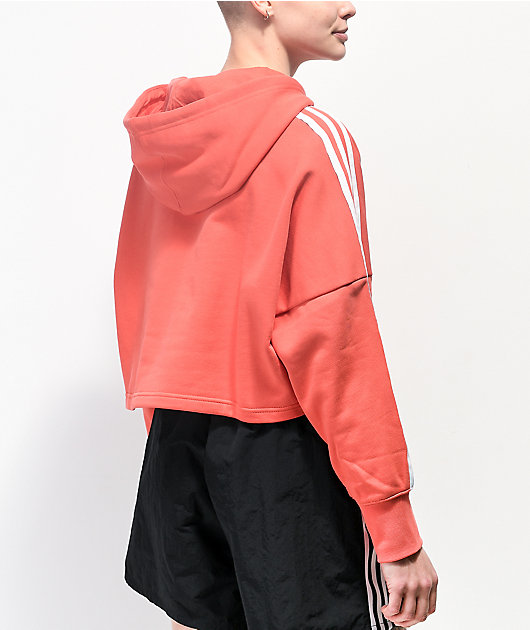 adidas Scarlet Crop Hoodie
