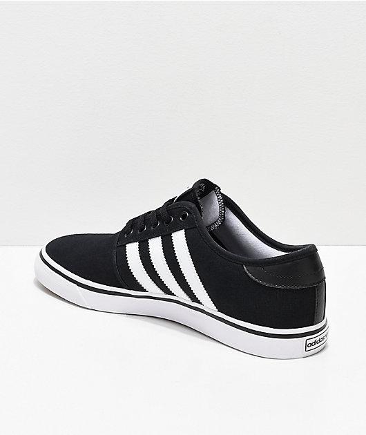 adidas Seeley Black & White Shoes