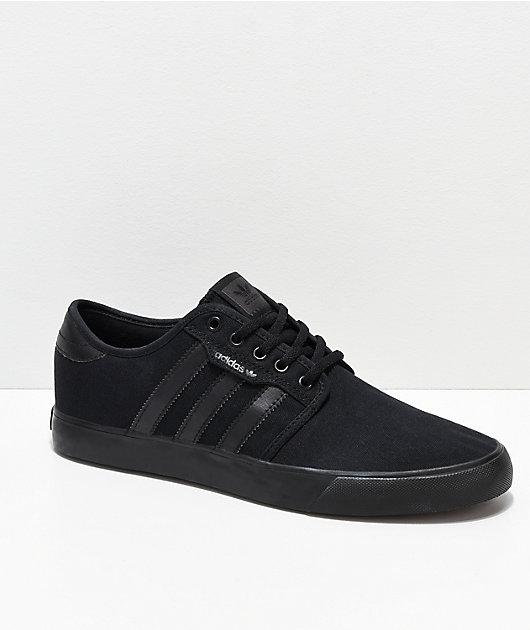 adidas Seeley Black Shoes | Zumiez