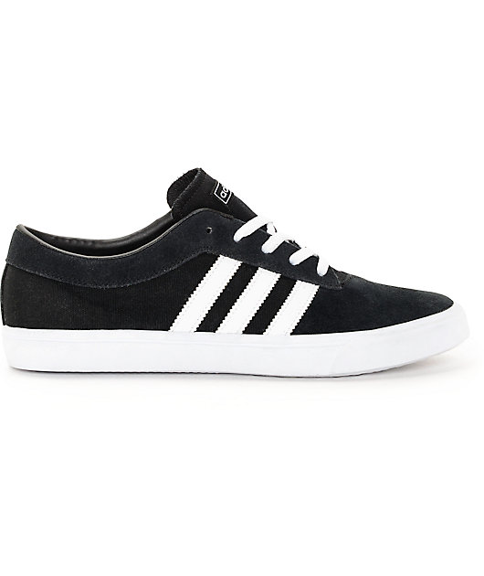 adidas Sellwood Black & White Shoes