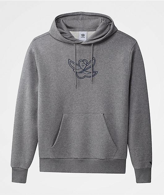 adidas Shmoofoil Grey Hoodie