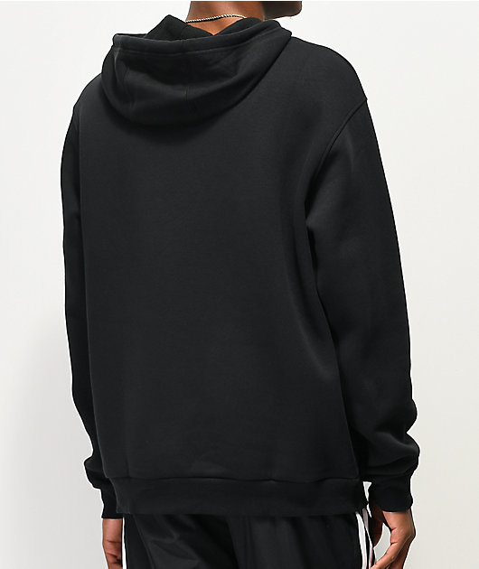 adidas Solid Blackbird Black Hoodie