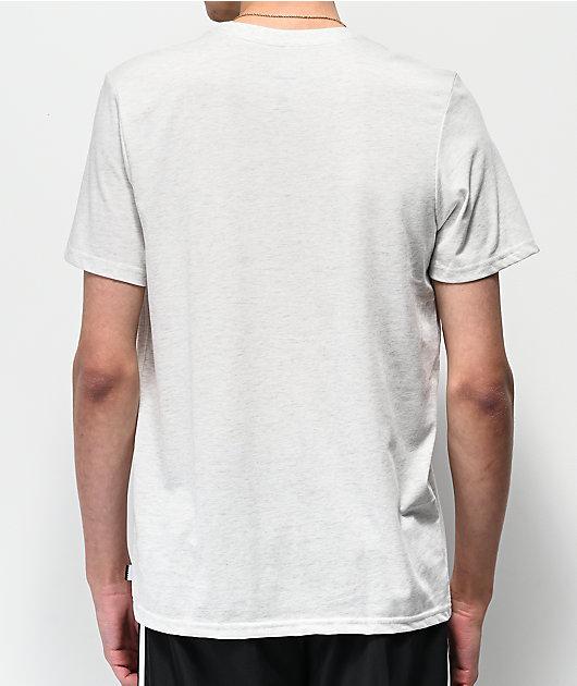 adidas Solid Blackbird camiseta blanca y morada