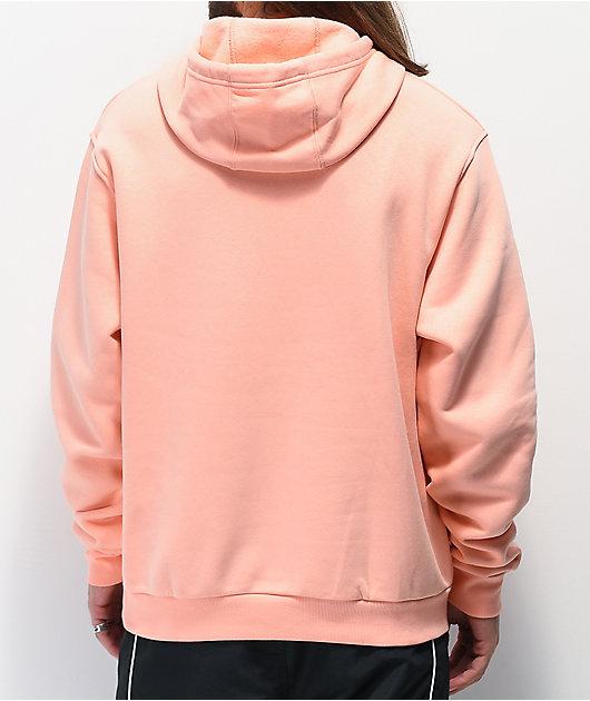 adidas Solid Pillar sudadera con capucha rosa