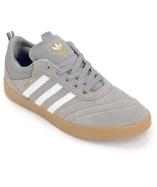 adidas Suciu Adv Grey, White \u0026 Gold
