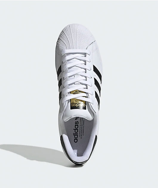 adidas Superstar Black & White Shoes