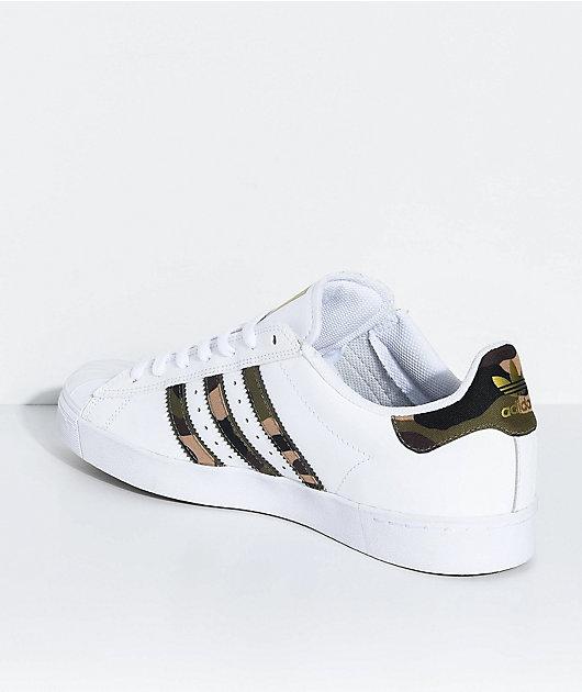 adidas Superstar Vulc White \u0026 Camo