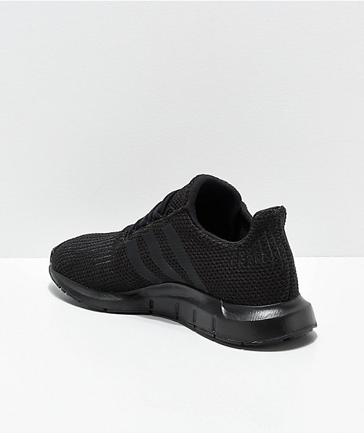 adidas Swift Run Black Shoes