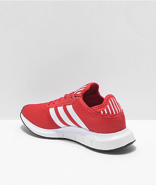 adidas Swift Run X Red & White Shoes