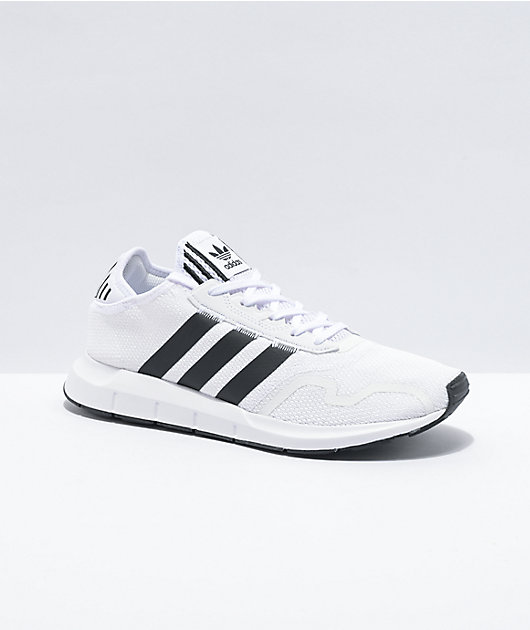 adidas Swift Run X White & Black Shoes