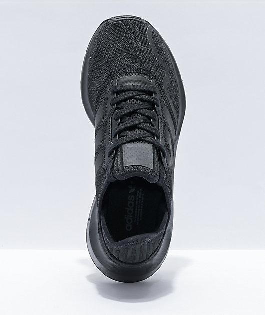 adidas Swift Run XJ Black & White Shoes